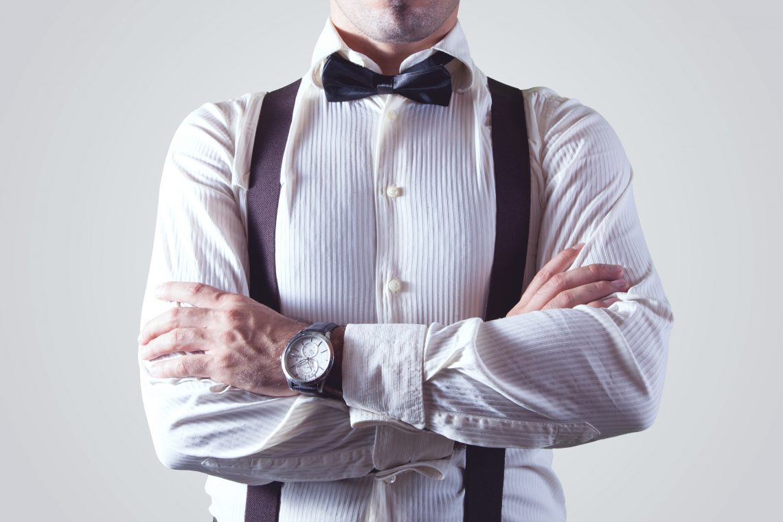Bow tie businessman